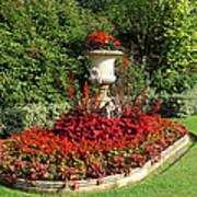 Queen Mary's Gardens Regents Park Art Print