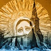 Queen Of Angels Art Print