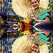 Queen Of Reflections Art Print