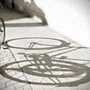 Queen St. Bicycle Art Print