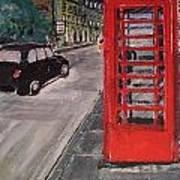 Queens Street By Findlay Close Art Print
