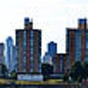 Queensboro Bridge / Roosevelt Island Panorama Art Print