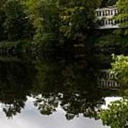 Quiet Lake In The Berkshires Art Print