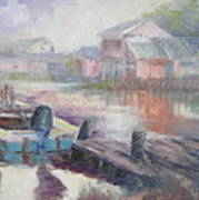 Quiet Morning In East Point Art Print
