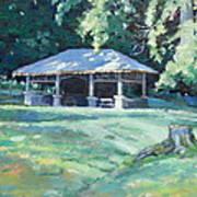 Quiet Resting Place Art Print by Sandra Harris