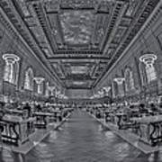 Quiet Room Bw Art Print