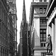 Quiet Sunday On Wall Street Art Print