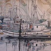 Quileute Marina - Bananas Art Print