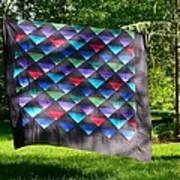 Quilt Top In The Breeze Art Print
