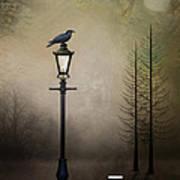 Quote The Raven Art Print
