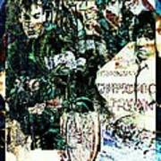 R E M / Exit Chronic Town Art Print
