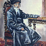 Rabbi Meisels Art Print