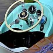Race Boat Dash Art Print