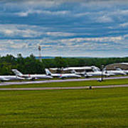 Race Week 2014 Pocono Airport  Art Print