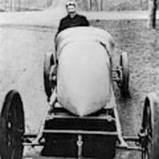 Racecar Driver, C1906 Art Print