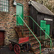 Racecourse Colliery  Art Print by Adrian Evans