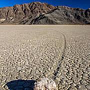 Racetrack In Death Valley National Park Art Print