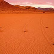Racetrack Valley Death Valley National Park Art Print