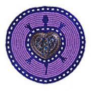 Purple Valentine 2011 Art Print