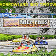 Racing Dreams Art Print