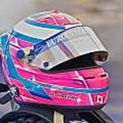 Racing Helmet 3 Art Print