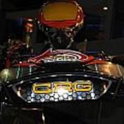 Racing Kart Art Print