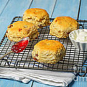 Rack Of Scones Art Print