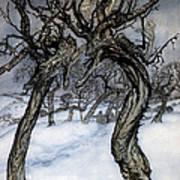 Rackham: Whisper Trees Art Print