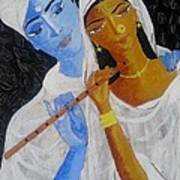 Radhakrsna Art Print