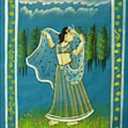Radha's Passion Art Print