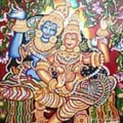 Radheshyam Art Print by Jayashree