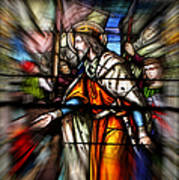 Radiant Jesus Art Print