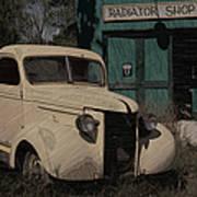 Radiator Shop Art Print