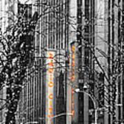 Radio City Music Hall Lights Art Print