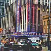 Radio City Music Hall New York City- 1 Art Print