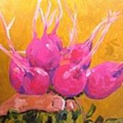 Radishing Beauty Art Print