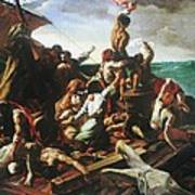 Raft Of The Medusa - Detail Art Print