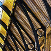 Rafters At London Kings Cross Art Print