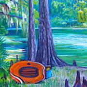 Rafting Day Art Print