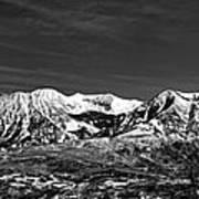 Ragged Mountain Colorado Art Print