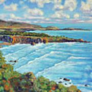Ragged Point California Art Print
