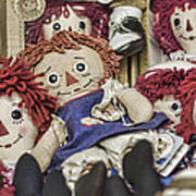 Raggedy Ann And Andy Art Print