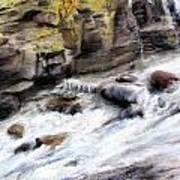 Raging River Art Print