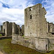 Raglan Castle - 3 Art Print