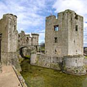 Raglan Castle - 5 Art Print