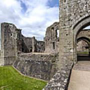 Raglan Castle - 6 Art Print