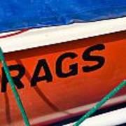 Rags Art Print