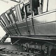 Rail Crash At Bethnal Green Four Coaches Derailed And Art Print