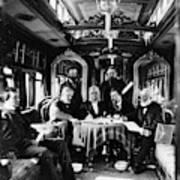 Railroad Directors, C1868 Art Print