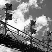 Railroad Signal Tower Art Print